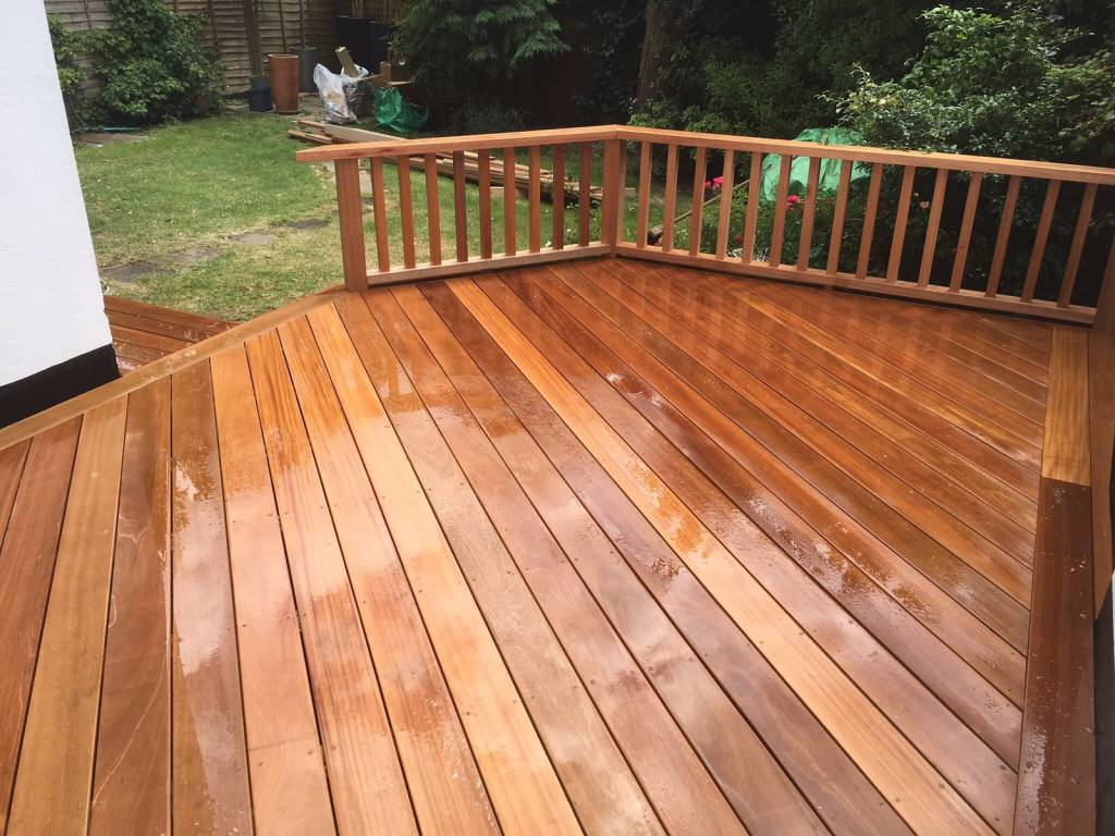 Oakmere Landscaping in Salford install decking patios for customers throughout Manchester