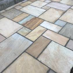 Oakmere Landscaping in Salford install garden paving areas for their customers throughout Greater Manchester