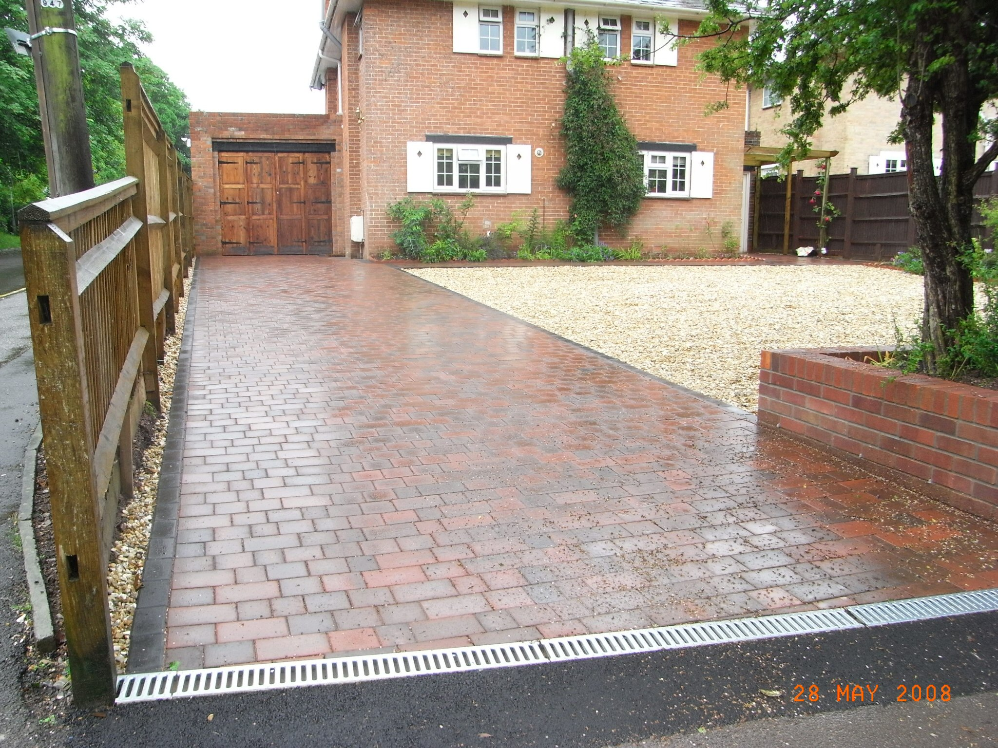 Oakmere Landscaping in Salford install driveways for customers throughout the Greater Manchester area